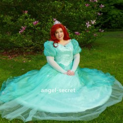P180CS  princess Ariel without teal sequins but have pearl only