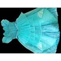 P181 Movies Cosplay Costume movie pink Ariel princess dress