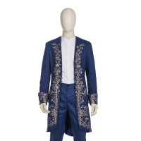 P201 COSPLAY beauty and beast 2017 Prince Adam Costume tailor made adult