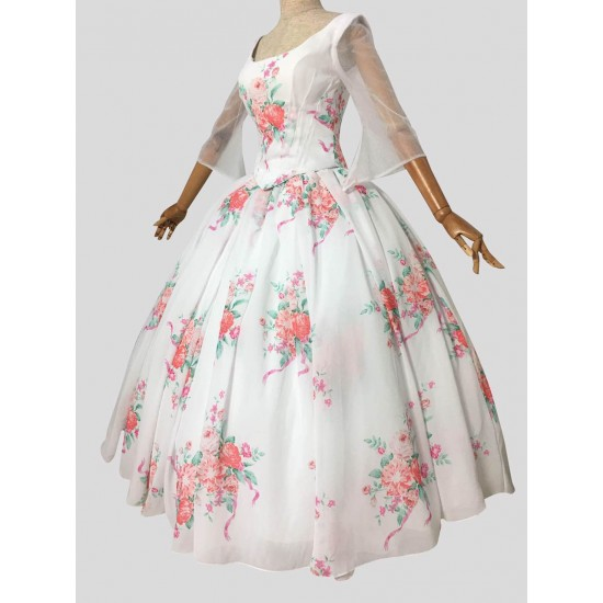 P220 COSPLAY beauty and beast princess belle celebration Costume tailor made 2017 version