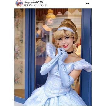 P259B Cinderella park version bodice only (new fabric)