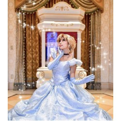 P259 Cinderella dress park version (new fabric)