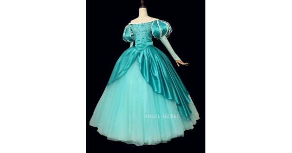 P390 Ariel mermaid Cosplay Costume Dress tailor made women ...
