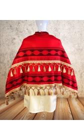 P600 Moana winter cape disneybound top