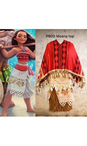P600 Moana winter cape disneybound