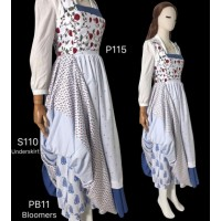 Pb11 the bloomers for  beauty and beast princess belle Costume tailor made 2017 version COSPLAY