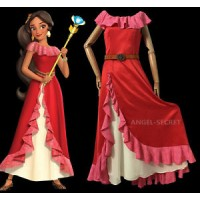 P320 elena costume movie cosplay princess party corset dress custom made
