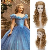 WG43 wig Women 2015 cinderella wig movie princess party