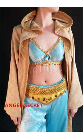 CL22 princess Jasmine robe jacket gold jacquard