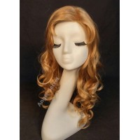 wg55 sleeping beauty wig Aurora princess cosplay women dark blonde