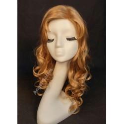 wg55 sleeping beauty wig Aurora princess cosplay women dark blonde