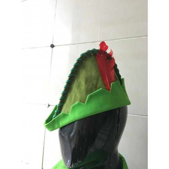 PTP3 peter pan costume shirt, Hat and pants