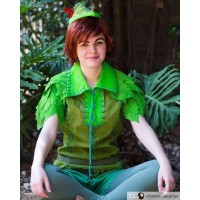 PTP3 peter pan costume shirt, Hat and pants