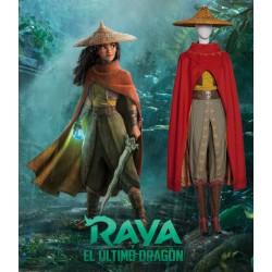 RA001 Raya And The Last Dragon Raya Cosplay Costume