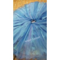 S343 cinderella gradient skirt, purple, blue, light blue