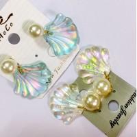 sf3 Ariel shell ear ring