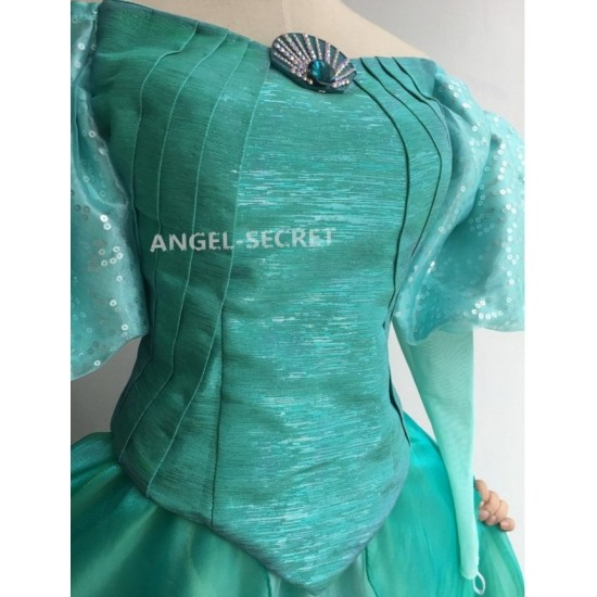 SK178 corset and sleeves for K178 Ariel costume, brooch is not included