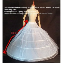 SS9 King size petticoat