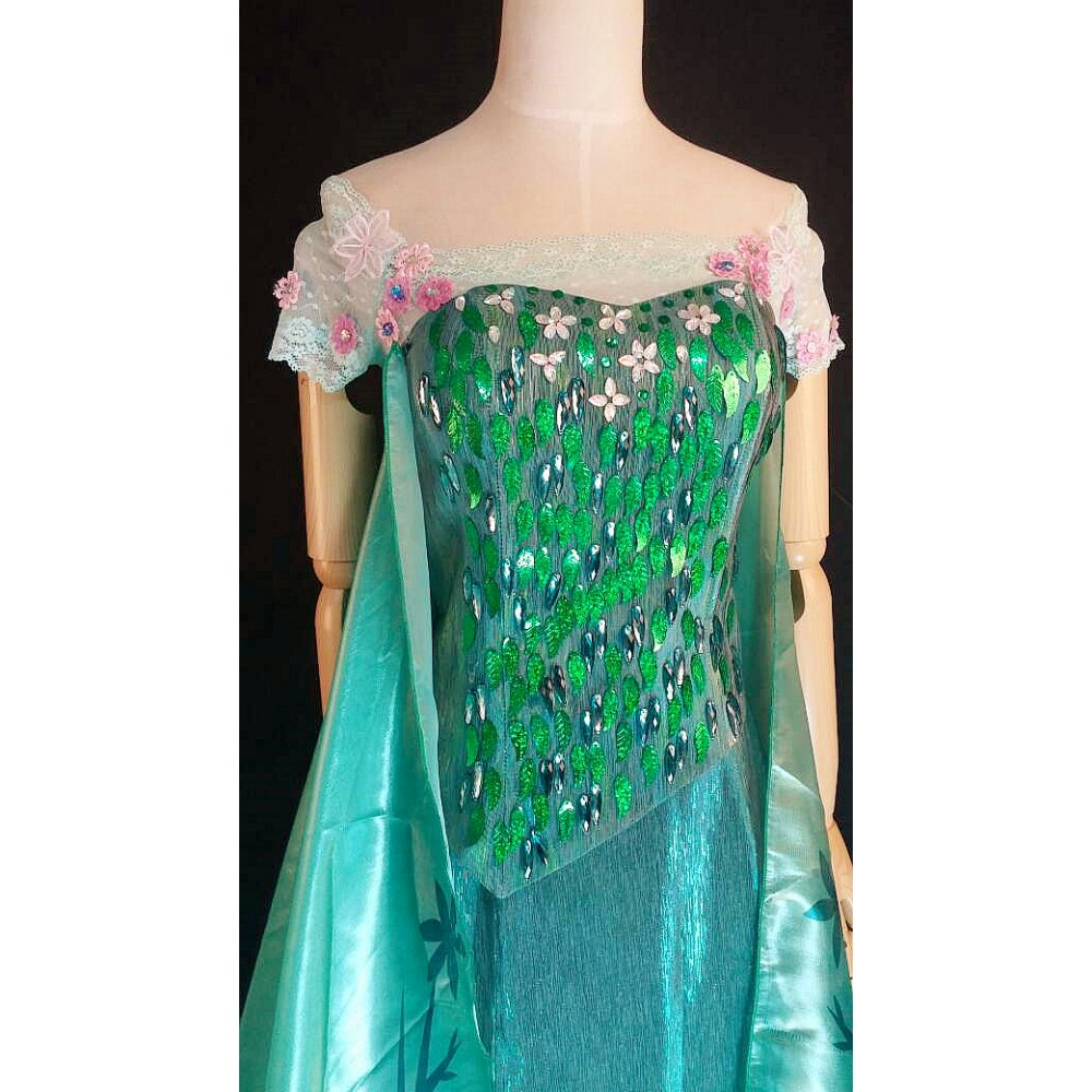 46144aca23 TOP10 elsa corset and sleevse only of J929 for frozen fever