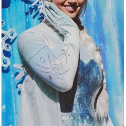 TOP52 Elsa shirt cosplay