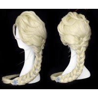 wg13 Elsa Wig with hairpins