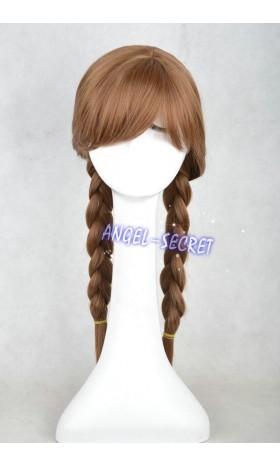 WG14 Anna Wig Cosplay Princess brown