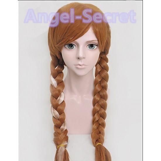WG19 Anna Brown Weave Wig
