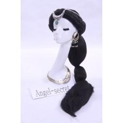 WG22 Jasmine Sassy Prestige Princess Costume wig
