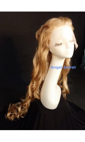 WG60 Cinderella silk top lace wig