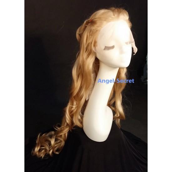WG60 Cinderella silk top lace wig