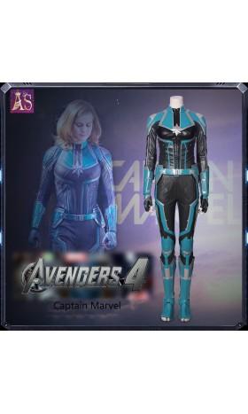 A017 Marvel Captain Marvel Carol Susan Jane Danvers cosplay costume