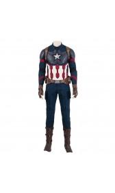 A013 Marvel Comics Avengers endgame captain america Steve Rogers cosplay costumes