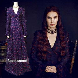 GT011 Game of Thrones Lady Melisandre of Asshai cosplay costume